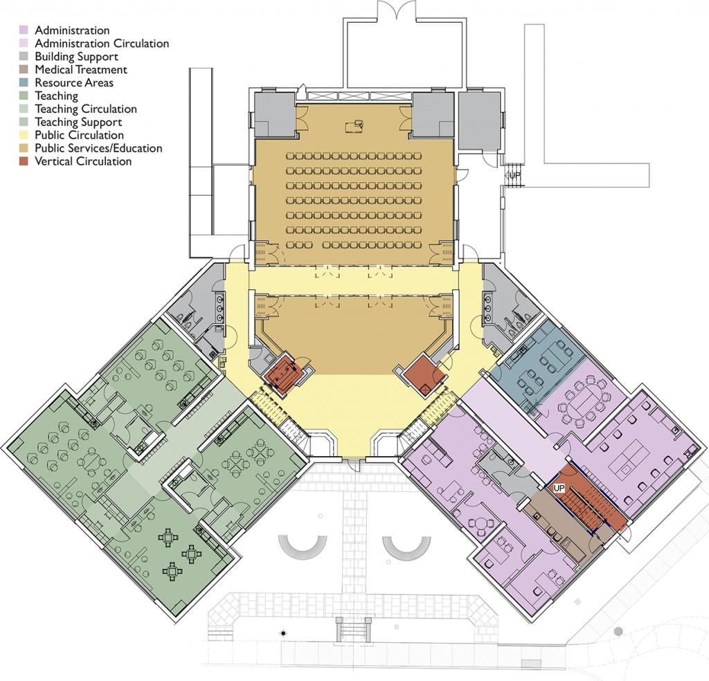 New SDCA floor plan